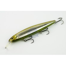 DEPS Balisong Minnow 130SP kolor 23 GLASS BELLY SHINER