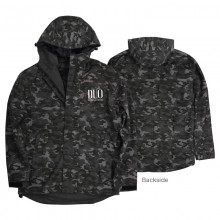 DUO Windbreaker Jacket Grey Camo L
