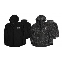DUO Windbreaker Jacket Grey Camo S