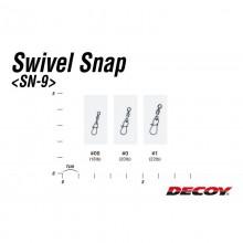 Agrafki Decoy SN-9 Swivel Snap rozm.00