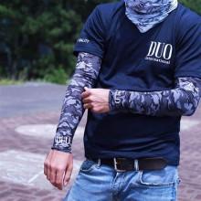 DUO Rękawy UV Arm Guard black camo