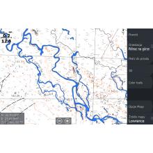 Mapa MaxiMapa rastrowa Siemianówki Lowrance