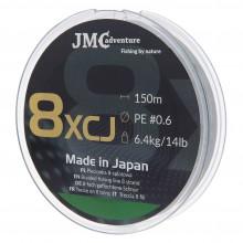 Plecionka JMC ADVENTURE 8XCJ PE 0.6 - 150M zielona