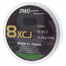Plecionka JMC ADVENTURE 8XCJ PE 1.5 - 150M zielona