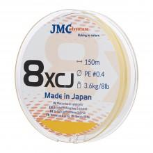 Plecionka JMC ADVENTURE 8XCJ PE 0.4 - 150M fluo