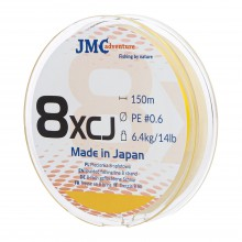 Plecionka JMC ADVENTURE 8XCJ PE 0.6 - 150M fluo