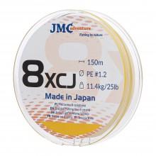 Plecionka JMC ADVENTURE 8XCJ PE 1.2 - 150M fluo