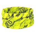 DUO Chusta UV Headwear Chartreuse geo