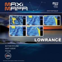 Mapa MaxiMapa Polska  Lowrance, Simrad