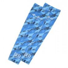 DUO Rękawy UV Arm Guard Blue Geo
