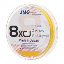 Plecionka JMC ADVENTURE 8XCJ PE 2.5 - 150M fluo