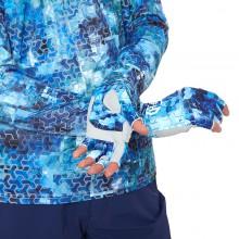 Rękawiczki UV Print Blue rozmiar M