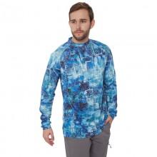 Bluza  UV z nadrukiem w kolorze niebieskim rozmiar L