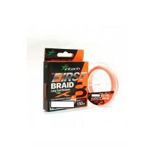 Plecionka Intech - First Braid X8 0.8PE 14lb/6.36kg 150m orange