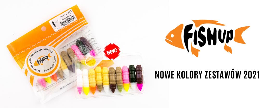 FishUp Nowe kolory 2021 - kliknij po więcej!